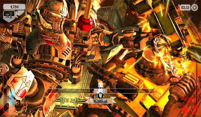 El Jugón De Móvil Warhammer 40,000: Freeblade partida 2