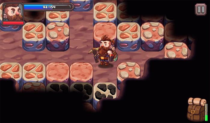 El Jugón De Móvil Mine Quest 2 partida