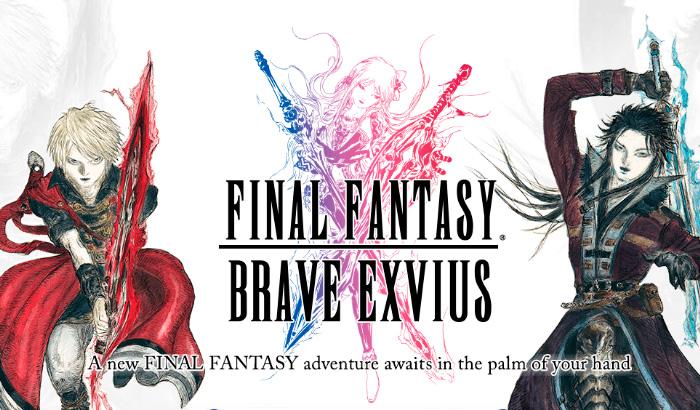 Trailer de FINAL FANTASY BRAVE EXVIUS para Android e iOS