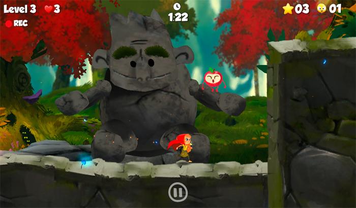 El Jugón De Móvil RedStory LittleRed Riding Hood partida 2