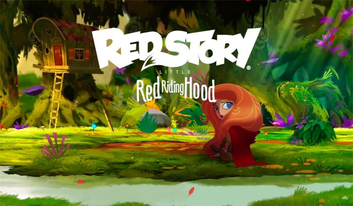 El Jugón De Móvil RedStory LittleRed Riding Hood portada