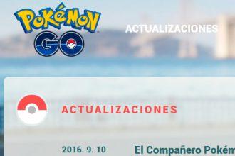 El Jugón De Móvil - Noticias Actualiación Pokémon GO Compañeros Pokémon