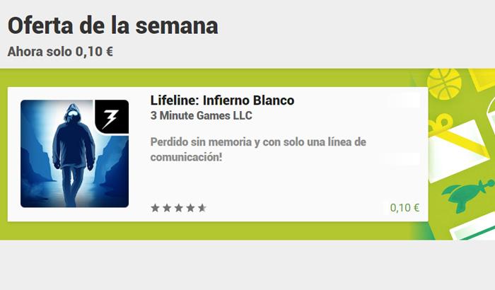 El Jugón De Móvil - Ofertaza de Lifeline: Infierno Blanco