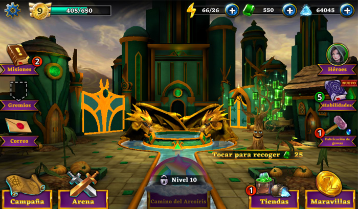 El Jugón de Móvil - Guía Oz Broken Kingdom - Captura Ciudad Esmeralda