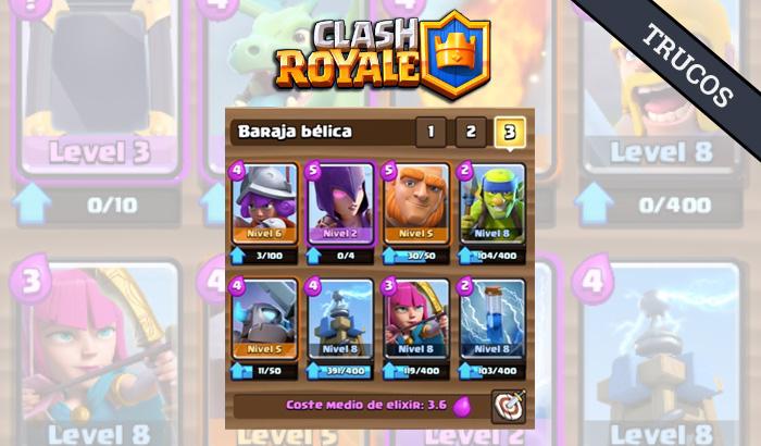 El Jugón De Móvil - Clash Royale mazo Arena 6 sin legendarias