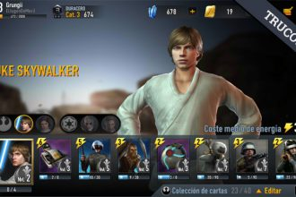 Mazo recomendado para subir a Cat.4 en Star Wars Force Arena