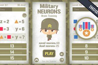 El Jugón de Móvil - Juego indie Military Neurons