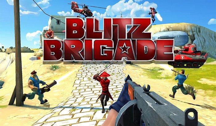 El Jugon De Movil Blitz Brigade portada