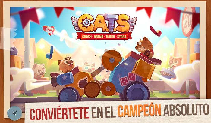 El Jugón De Móvil - CATS: Crash Arena Turbo Stars