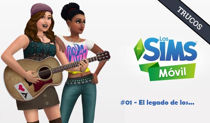 El Jugón de Móvil Guías y Trucos Los Sims Móvil - Misión 1 El legado de los... (Tutorial)