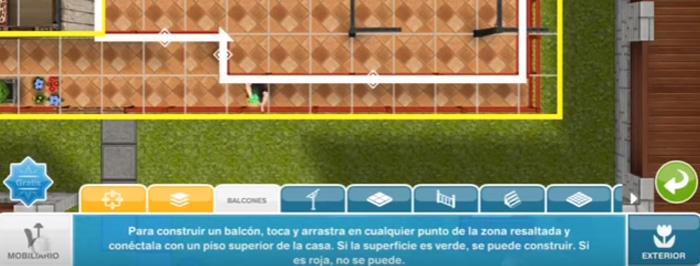 El Jugón de Móvil Guías y Trucos Los Sims Free Play - Misión 32 Bricolocura: Balcones