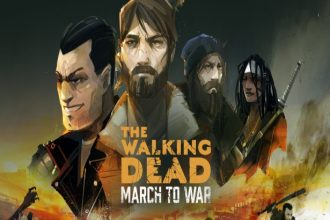 Portada del juego The Walking Dead: March to War