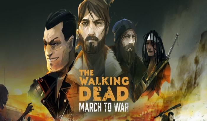 Portada del juego The Walking Dead: March to War