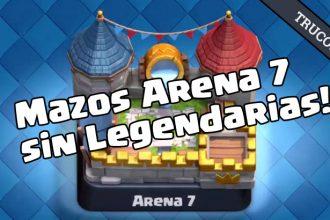 El Jugón De Móvil - Clash Royale Guia Mazos Arena 7 Mazo 4