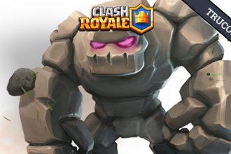 El Jugón De Móvil - Clash Royale Mazo con golem