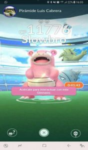 El jugón de móvil - Pokémon GO