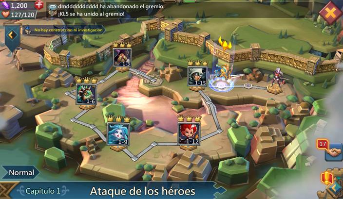 Guía juego Lords Mobile
